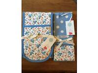 Limited Edition Cath Kidston Disney oven gloves and tea towel set.