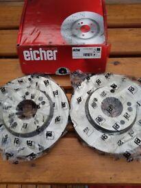 I30 Front Brake Discs x 2 Eicher