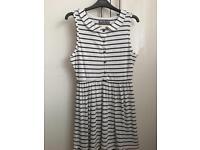 Soul Cal Pin-stripe dress size 10