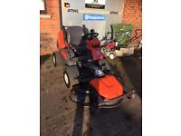 Husqvarna P524 professional ride on mower