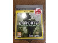 PlayStation Call Of Duty 4