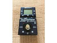 Zoom MS-100BT Multi-Stomp Guitar Effects Pedal with Bluetooth