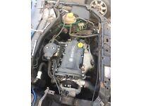Vauxhall corsa c 1.2 petrol engine