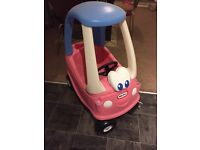 Pink cozy coupe