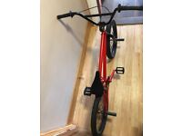 Wethepeople BMX Bike Colour Red Good Condition