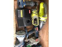 Ryobi 18v tools
