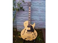 Revelation RT75 arched top(thin bodied) semi acoustic guitar