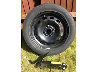 Spare Wheel with Tyre & Jack kit Ford Fiesta