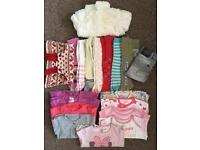 Baby girl 6-9 months clothes bundle