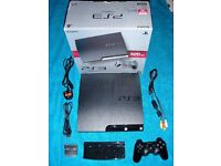 PlayStation 3 Slim 320gb (CECH-2503B) in VGC with 30 games WILL SPLIT