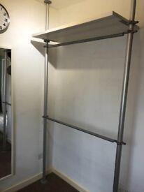 IKEA dressing room clothing racks/shelves