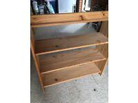 Basic Pine bookcase