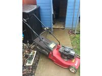 Petroleum mower