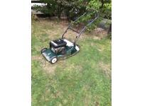Hayter 48 petrol self drive lawn mower
