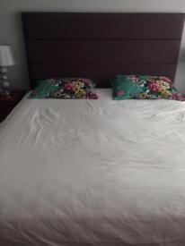 Superking bed and mattress