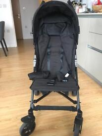 Stroller with rain cover - less than a year old, almost new and used only a few times