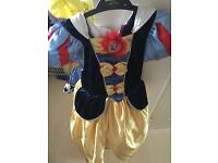 DIsney Snow White dress up fancy dress age 5-6