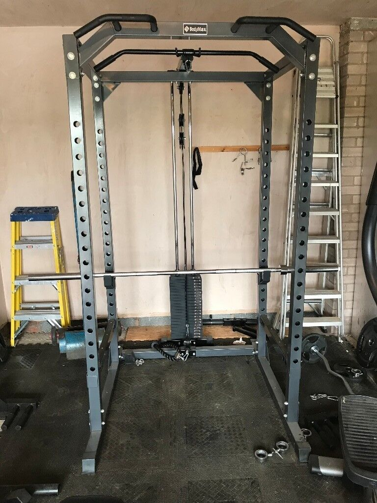 Bodymax Rack Bench Weights Bars Rubber Floor Mats In Hereford