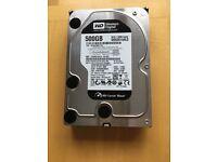 Western Digital Black HDD-WD5001AALS (500GB)