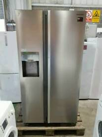 Stainless Steel Samsung A+++ Class Frost Free American Style Fridge Freezer