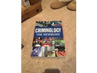 Criminology, Tim Newburn