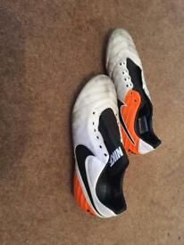Nike tiempo soft ground football boots UK 7.5