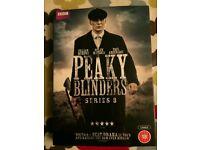 Peaky Blinders DVD series 3