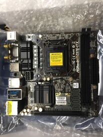 ASRock Z87E-ITX motherboard LGA1150 socket supports 4th gen Intel CPU's