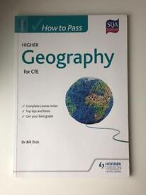 Hodder Gibson How to Pass Higher Geography