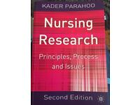 Nursing research textbook