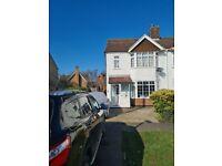 Sunny 3 bedroom semi-detached house in catchment of outstanding schools, quiet crescent