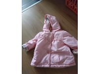 Baby coat worn once age 9/12 months