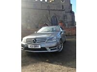 Mercedes Benz C250 sport CDI, Blue efficiency-C, FSH in mint condition