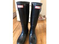 Hunter wellies size 5