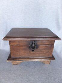 Vintage-Style-Handmade-Reclaimed-Teak-Treasure-Chest-Jewellery-Trinket-Box