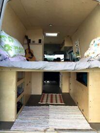 2011 Mercedes sprinter LWB 5 berth family off grid camper campervan motorhome expedition overland