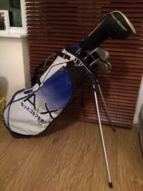 Full golf set up