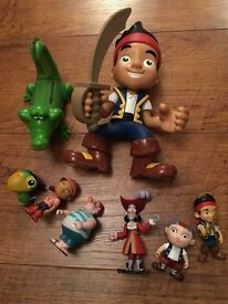 Jake and the Netherland Pirates figures