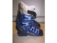 Ski boots, Salomon Evolution Performa 4.0, shoe size 5 1/2-6