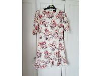 Womens floral dress size 10