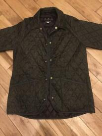 Barbour quilted ladies jacket 14