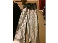 Full length black/grey/silver curtains