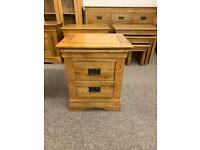 Solid oak bedside chest * free furniture delivery *