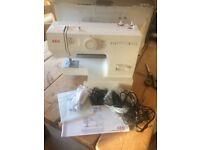 AEG Sewing machine nearly new