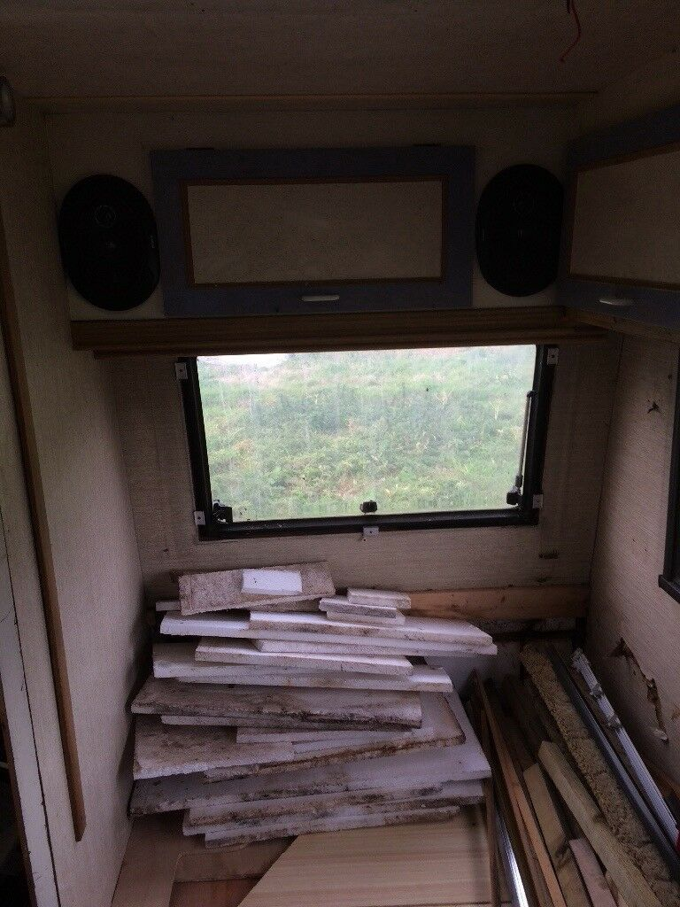 Mercedes 309d Camper 1989 Unfinished Project In Torpoint Cornwall Caravan Zig Unit Wiring Diagram