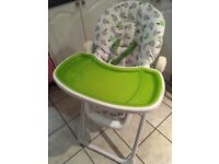 iSafe Mama baby/toddler recline highchair