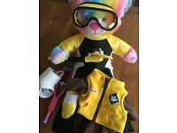 Rainbow build a bear and accessories