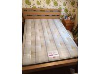 Bensons Kinsize bed and mattress