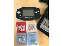 GameBoy with games