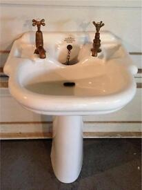 Antique Shanks & Co sink